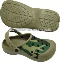 Injection plastic sandals for men for beach and promotion,light and comforatable