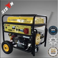 BISON CHINA TaiZhou All Brand 5kva 240 Volt Air-cooled Gasoline Generator Super Max