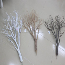 SJ140928 wedding decoration centerpieces/plastic dry tree branches/preserved coral tree