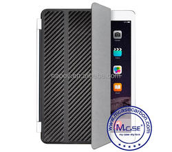 High Luxury Carbon Fiber Smart Cover For Apple iPad mini 1/2/3