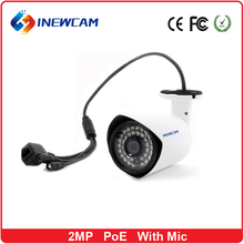 Inewcam Factory price infrared POE IP66 2mp 1080p ip camera best