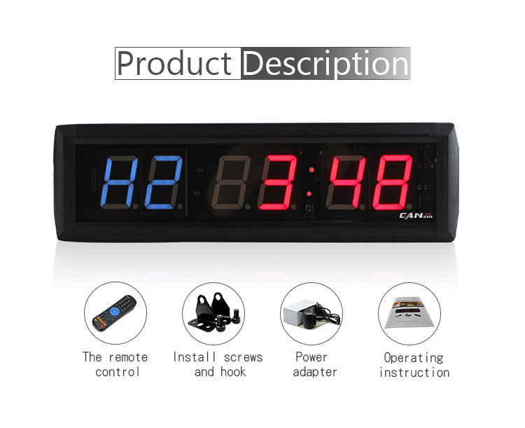 Wholesale products 24 seconds led countdown timer