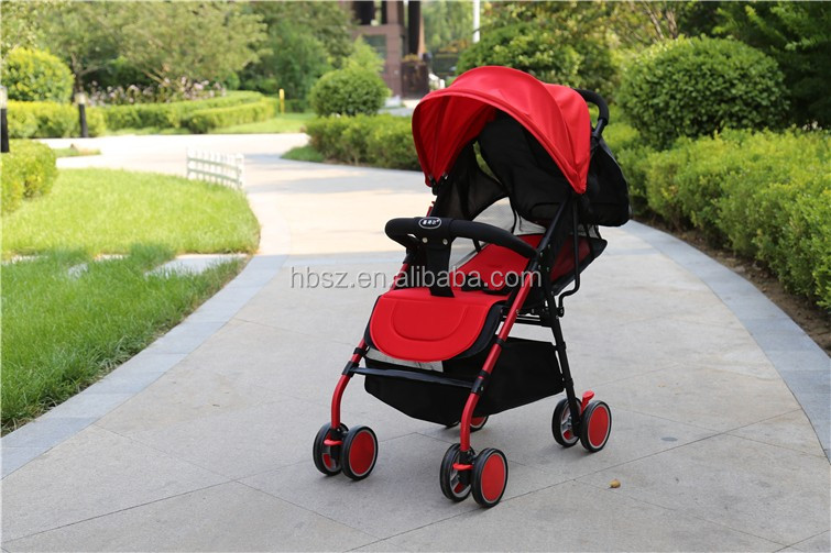 newest style light weight 5-point safety belt 3-in-1 baby pram baby stroller/folding portable four-wheel baby stroller