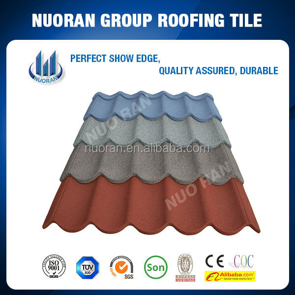Sand Coated Metal Roofing Tiles Lowgles Roof Tile for house using Price Shingle
