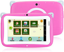 "Panda 4.3"" Kids Tablet PC 512MB RAM 4GB Dual Cameras Android 4.2 Pink"