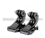 Telesin professional J-hook Buckle Basic Mount Clips for go pro camera
