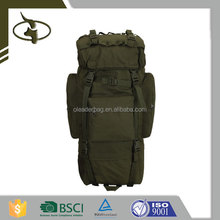 Wholesale Multiple Functional Long Bucket Bag Printed Army Backpack For Backpack Advertising