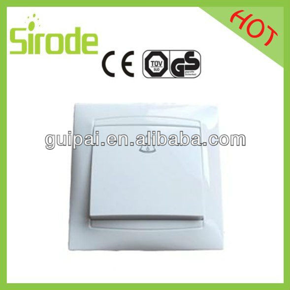 Anti-fire PC/ABS mateial electric switch