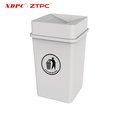 Quality-Assured Made In China Superior Quality Advertising Trash Bin