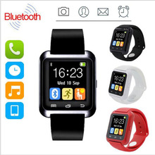 New Bluetooth U80 SmartWatch BT Notification WristWatch for iPhone 4/4S/5/5S Samsung S4/Note 2/Note 3 Android Phone