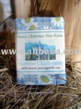 German Chamomile 100% All Natural Handmade Vegetable Soap Bar