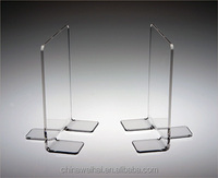 clear acrylic bookends