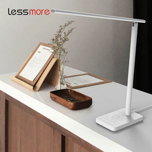 Amazon best selling Folding LED Desk Lamp with USB Charging Port Qi Wireless Charger Touch Control 4 Color Modes Timer