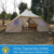 Canvas Bell Tent Family Camping Tent Outdoor Glamping 5x4m Touarg Tent