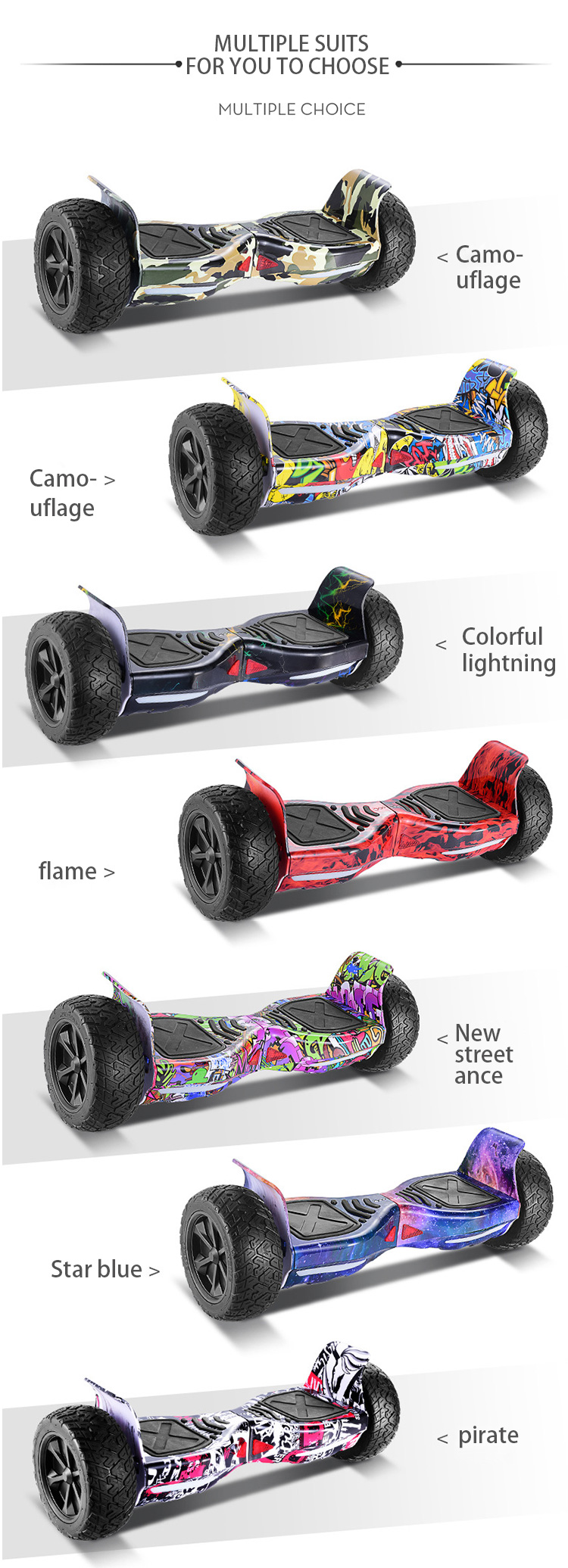 2 Wheels Hoverboard Balance Electric Scooter Electric Chariot Self Balance Electronic Scooter Hover Board Off Road Hover Board
