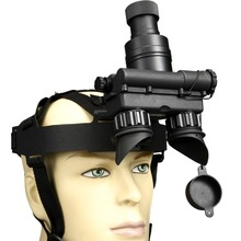 helmet mounted night vision goggles for police