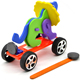 animal magnetic car creative magnetic technology handmade production DIY puzzle toys DIY educational toys for kids and students