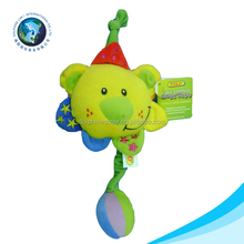 Plush Baby toy with musical pull string