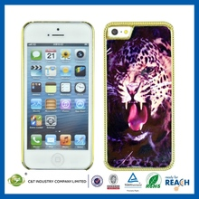 Cheap Mobile Phone Protective metal aluminum hard case for iphone 5c