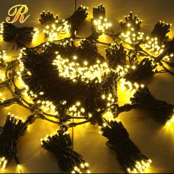 Short string christmas street lights outdoor wedding lights