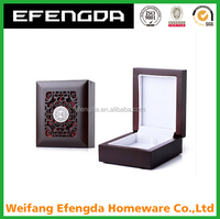 wholesale high quality wooden jewelry box packaging box