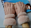 sheepskin fur gloves161130-10