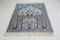 wholesale travel polyester muslim prayer mat