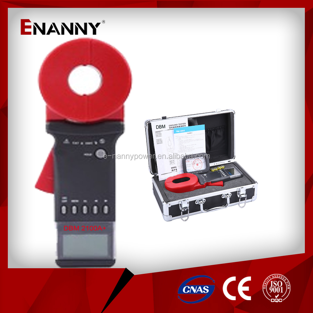 Digital Clamp Meter for Measuring Earth Resistance and Leakage Current DBM2100A+