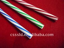 Plastic color straw