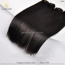 Qingdao Leshine Hair Company Buy Wholesale Root Care straight remy virgin machine weft filipino