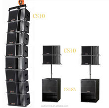 CS18A built-in DSP with 2x10in Concert Speakers