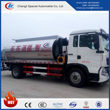 dongfeng 4x2 Asphalt Bitumen Truck Road construction paver asphalt tank for sale