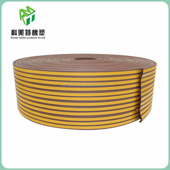 customized epdm rubber hinge strip