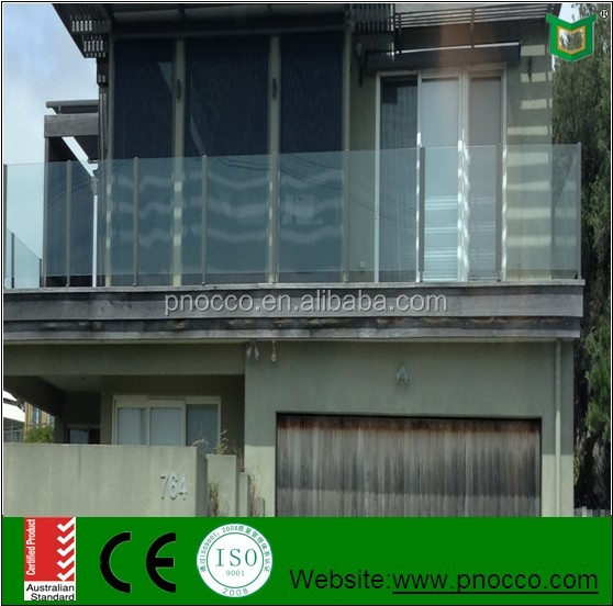 Cheap Price Glass Handrails With CE Certificate