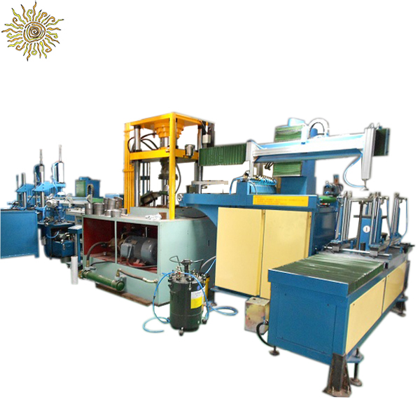 Stainless steel aluminum pot making machine