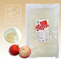 Lychee (Litchi) Flavor Topping Jelly