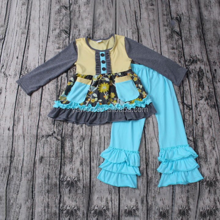 Yawoo baby boutique outfits kids clothes wholesale china custom made clothing manufacturers