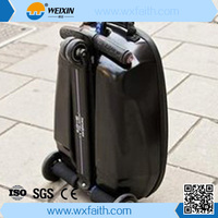 Buy scooter suitcase 2 wheels Electric Standing Scooter bag Self ...