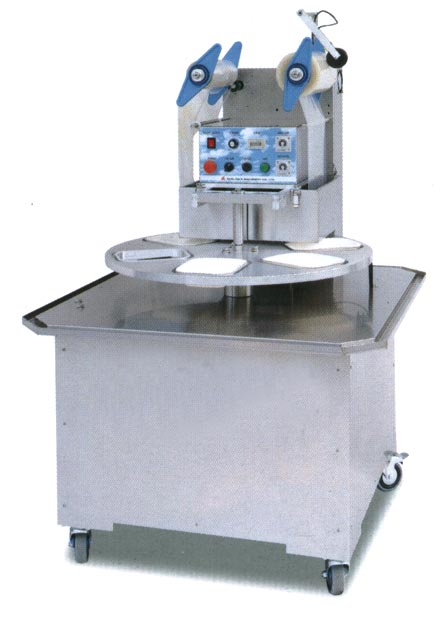 Automatic Rotary Type Cup Sealing