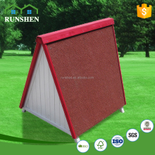 Dog Crate waterproof Eco-Friendly Asphalt Roof wooden house China cheap home & garden designer dog kennels
