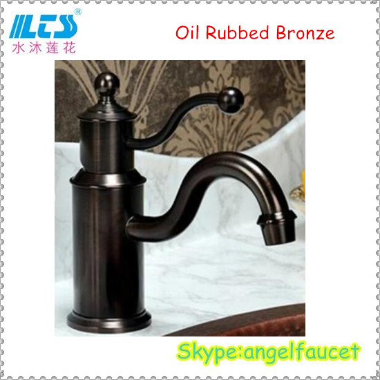 Antique Oil Rubbed Bronze Basin Faucet High Quality
