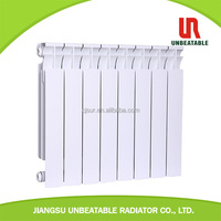 Aluminum radiator wall mount