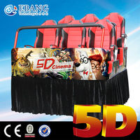 Crazy electric motion led auto cinema