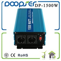 dc 12/24/48V ce-rohs 1500W dc to ac pure sine wave mini car power inverters