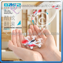 Mini Qute RC remote control flying LED Helicopter Quadcopter Headless mode Educational electronic toy NO.Q272