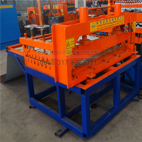 Top sale steel roofing sheet cutting & rolling machine