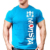New Style Wholesale Custom Short Sleeve Fitness Muscle Bodybuilding Mens Gym T Shirt