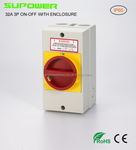 3P IP65 32a Electric Isolator Switch