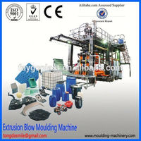 Fully automatic blow molding machine 220 liter blow mould(plastic barrel) pe shrink film machine