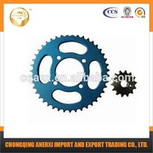 Hot Selling Motorcycle YBR125 428-43T/14T Sprocket for Motorcycle Parts